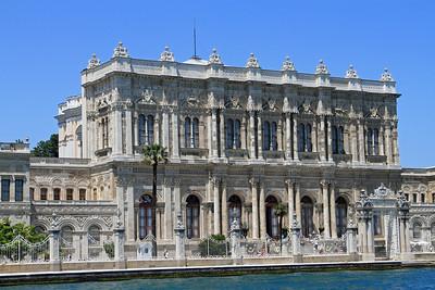 Dolmabahçe Palace.