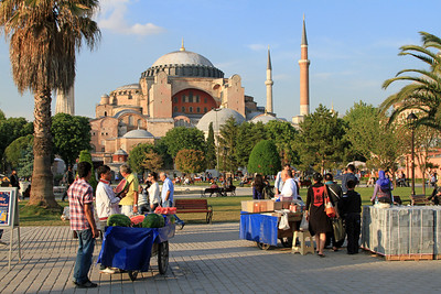 Haghia Sophia and Sultanahmet Square.