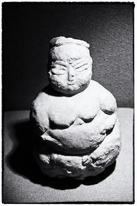 Evil paleolithic Godess statue, Anatolian Peoples Museum, Ankara