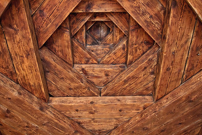 9 layer ceiling - Hacibektas - home of the Bektasi dervish sect