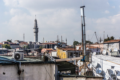 View of part of Istanbul from just outside the Grand Bazaar