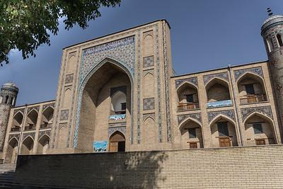 Full view of the Kukeldash Madrasah.