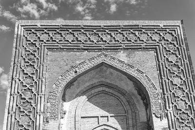 Raboti Malik Caravanserai on the road to Bukhara
