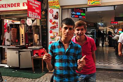 Kemeraltı Bazaar in Izmir