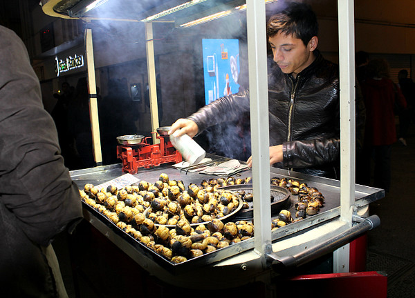 Roast-chestnut Vendor