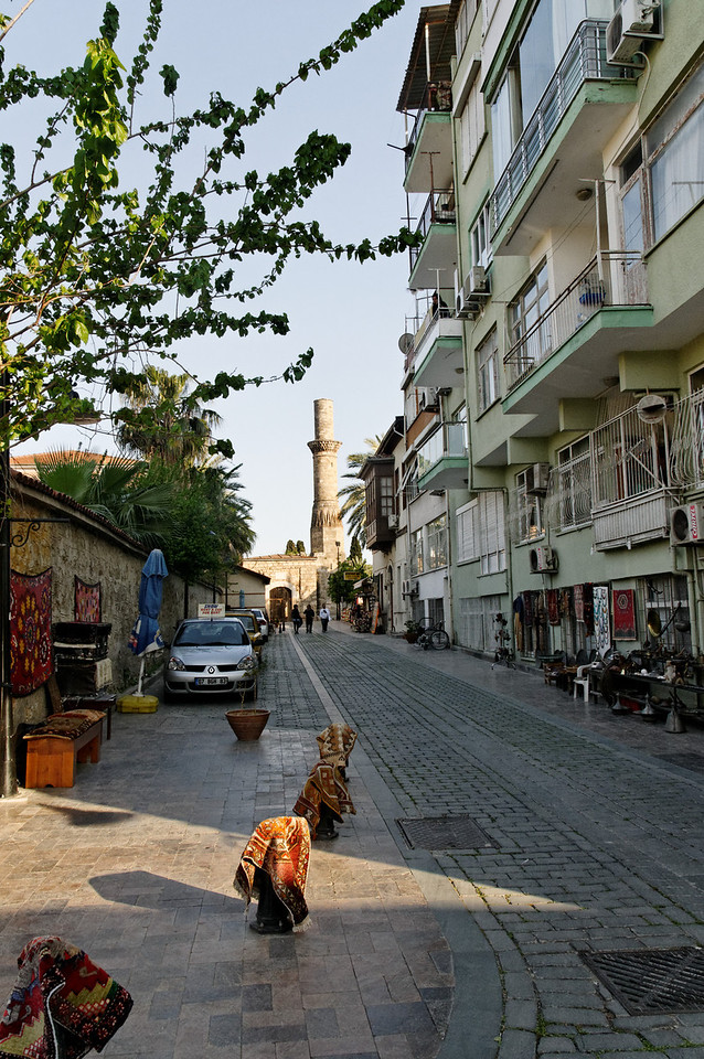 Zona histórica de Antalya