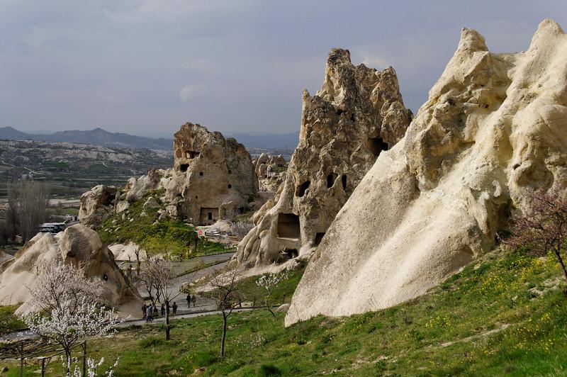 GOREME OPEN AIR MUSEUM<br /> GOREME - CAPPADOCIA