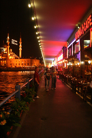 Galata Bridge, Istanbul 2009