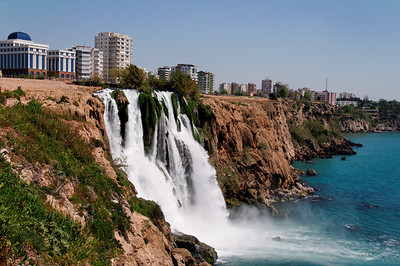Karpuzkaldiran Waterfall Antalya