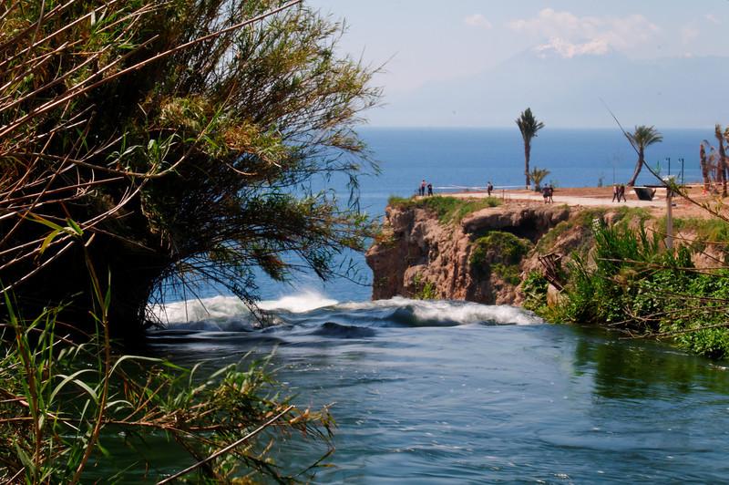 Karpuzkaldiran Waterfall<br /> Antalya