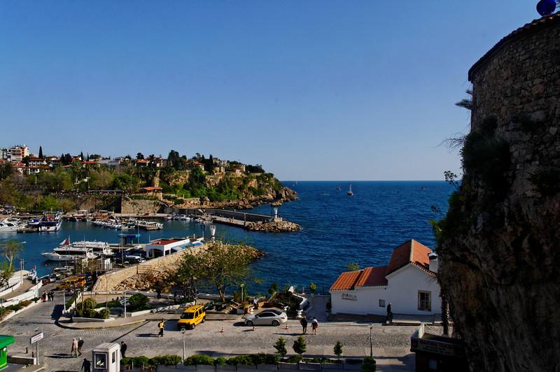 Parte antiga de Antalya<br /> Porto de abrigo