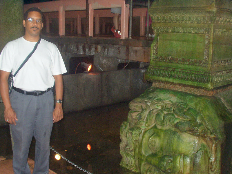 Me in the cistern complex