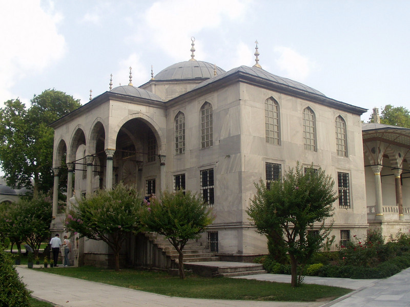 Topkapi Palace; library of Sultan Ahmed III