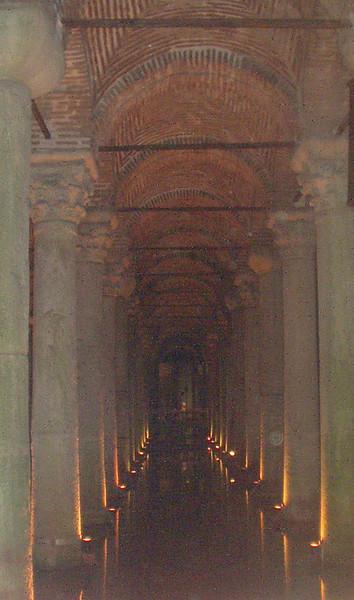 Ancient underground cistern complex