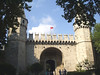 Topkapi Palace; Gate of Salutation -- used for official purposes and foreign dignitaries.  All visitors had to dismount, as only the sultan could pass through on horseback