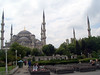 Sultan Ahmet Camii -- the national mosque; also known as the Blue Mosque.  Built early 17th century.