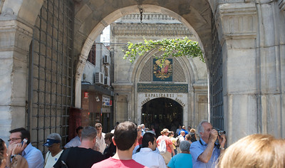 Entrance to the Grand Bazaar, with a claimed 4,000 shops & restaurants