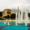 File Ref: 2013-06-04-Istanbul  214<br /> Fountains in the grounds of Sophia Hagia Museum ,Istanbul, Turkey