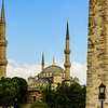 File Ref: 2013-06-04-Istanbul  194<br /> Blue Mosque with the Walled Obelisk in the foreground, Istanbul