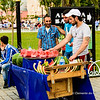 File Ref: 2013-06-04-Istanbul  211<br /> Turkish street vendor selling watermelon around near the Blue Mosque, Istanbul