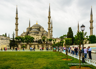 File Ref: 2013-06-04-Istanbul  001 Blue Mosque in Sultanahmet district of Istanbul, Turkey