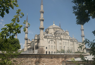 The Blue Mosque, in Old City of Istanbul
