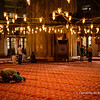 File Ref :2013-06-04-Istanbul  115<br /> Prayer Hall inside Blue Mosque, Istanbul