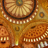 File Ref:2013-06-04-Istanbul  111<br /> Blue Mosque Ceiling tile artwork.