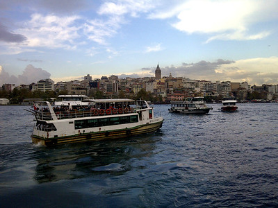 Boats on the Golden Horn