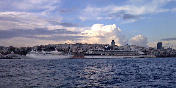 Cruise Ships on the Golden Horn