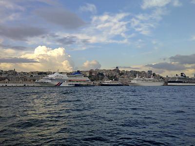 Cruise Ships on Golden Horn