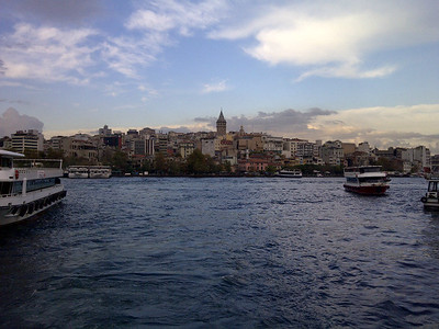 Galata with Boats