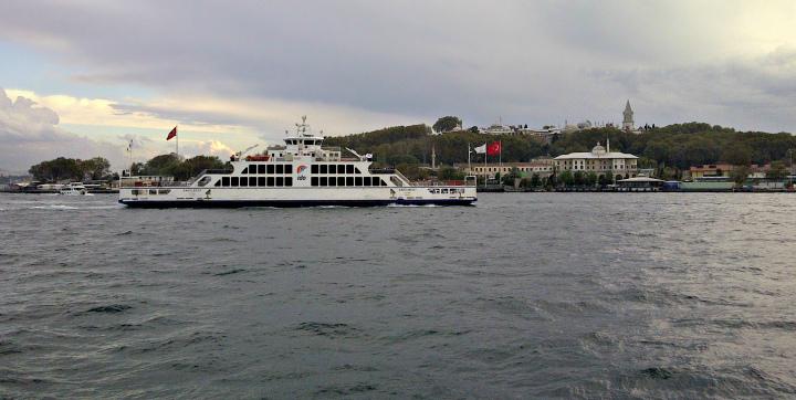 Leaving Karaköy Terminal