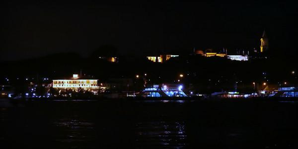 Golden Horn and Topkapi Palace