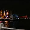 Fishing Lines, Ship and Bosphorus Bridge