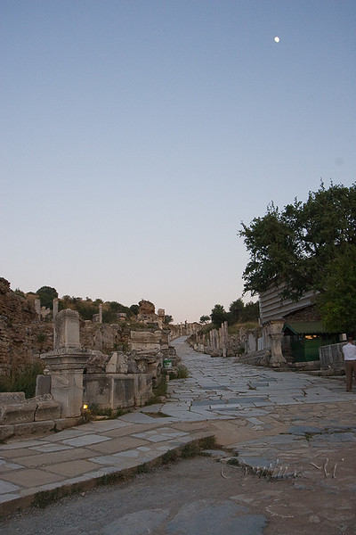 Ephesus at dusk