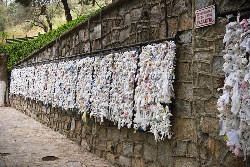 The wishing wall