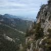 View of Kyrenia mountains from Buffavento Castle
