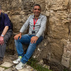 Mike and Engin try the Roman latrines