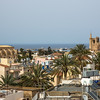 View from the tower and city walls of Famagusta
