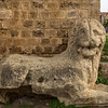 Lion guarding the city ramparts