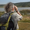 Graham and Angela viewing the wildfowl