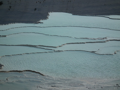 One of the terraced pools at Pamukkale