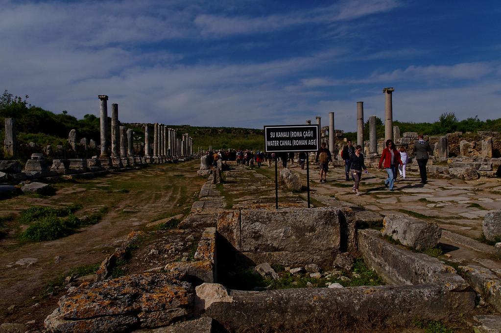 Perge Archaeological site<br /> Antalya