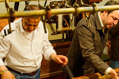 Processo de fabrico da seda Loja de tapetes- Capadócia