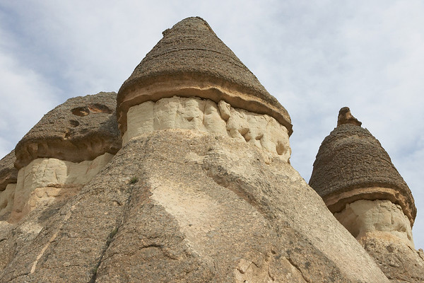 "The ""fairy chimneys."""
