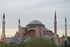 Haghia Sophia was one of the first sights that greeted us from Hotel Spina.