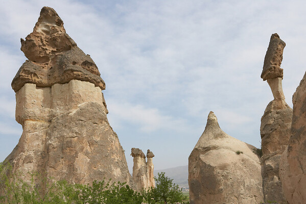 The rock formations were unlike any I have seen before.