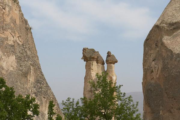 Cappadocia rock formations.