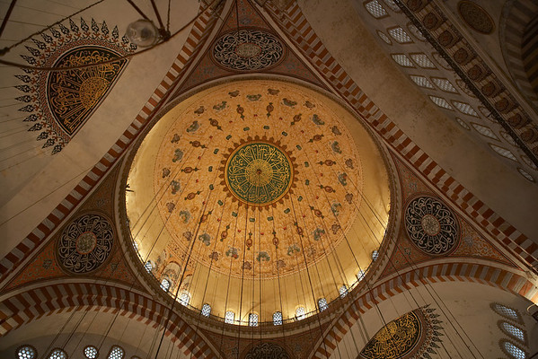 Süleymaniye Mosque, Istanbul's most important mosque, is both a tribute to its architect, Sinan, and a memorial to its founder, Süleyman the Magnificent.